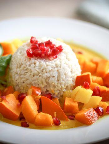 Kürbis-Mango-Curry / Glutenfreie Rezepte für Kinder und die ganze Familie