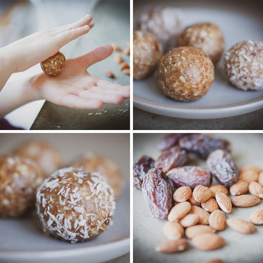 Energy Balls, die perfekte gesunde Süßigkeit für Familien