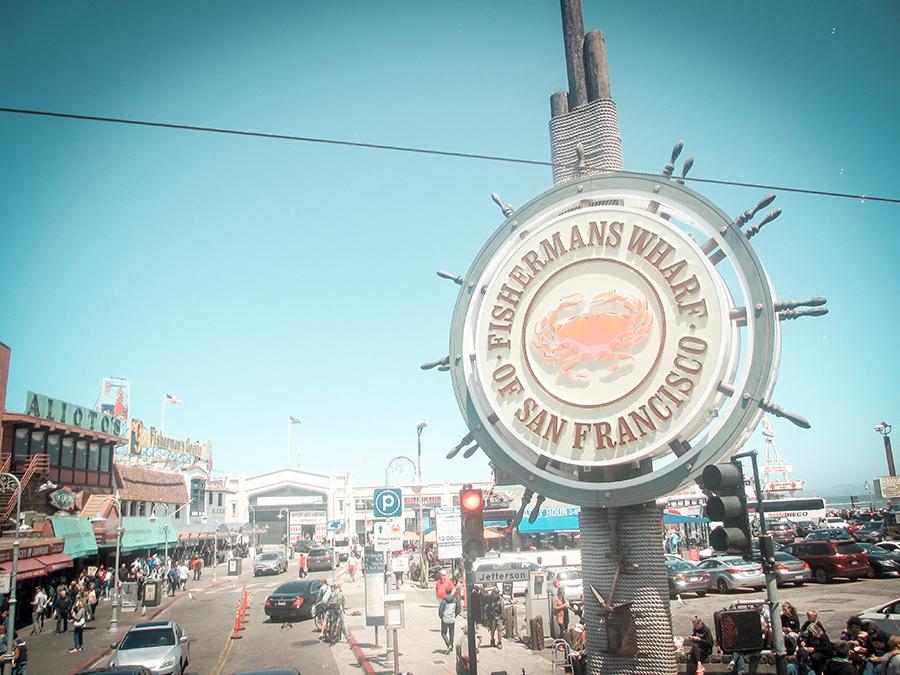 Kalifornien mir Kindern – Glutenfrei reisen - Fishermans wharf