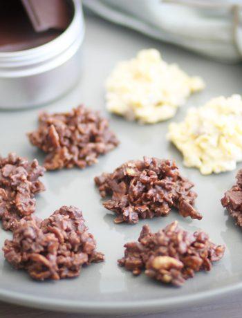 Gesunde und glutenfreie Schoko Crossies - laktosefrei - histaminfrei