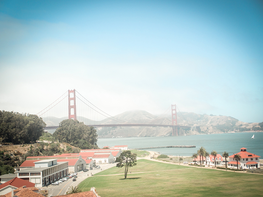 Kalifornien mir Kindern – Glutenfrei reisen - Golden Gate Bridge