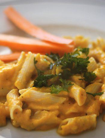 Pasta mit Möhrensauce – Geheimtipp für Gemüsemuffel