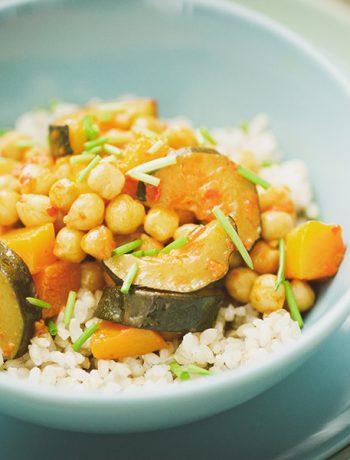 Butternut-Kokos-Curry – Kürbisgericht