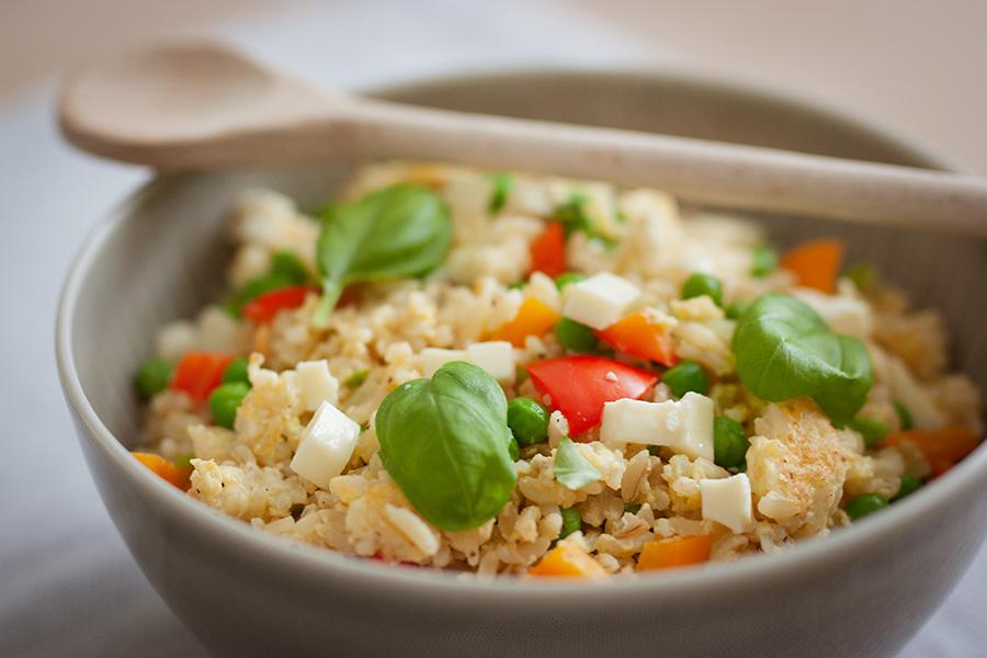 Konfetti-Reis – Das ideale glutenfreie Familien-Gericht für