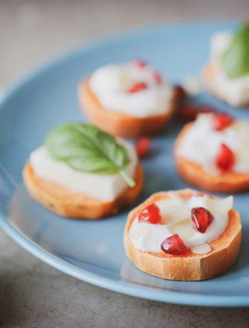 Süßkartoffeltaler – Das perfekte glutenfreie Fingerfoos / Brunchidee