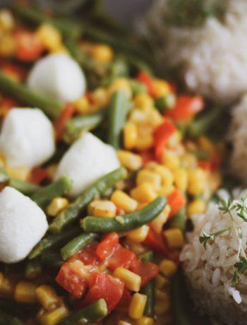 Glutenfreie Gemüsepfanne – gesund, schnell und einfach kochen für Kinder und die ganze Familie