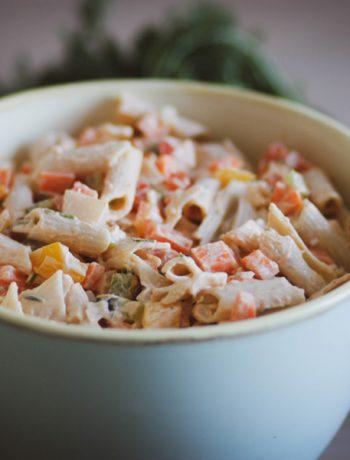 Glutenfreier Nudelsalat - Gesund und glutenfrei kochen für Kinder und die ganze Familie