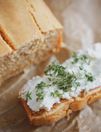 Süßkartoffel-Brot / Glutenfreies Brot