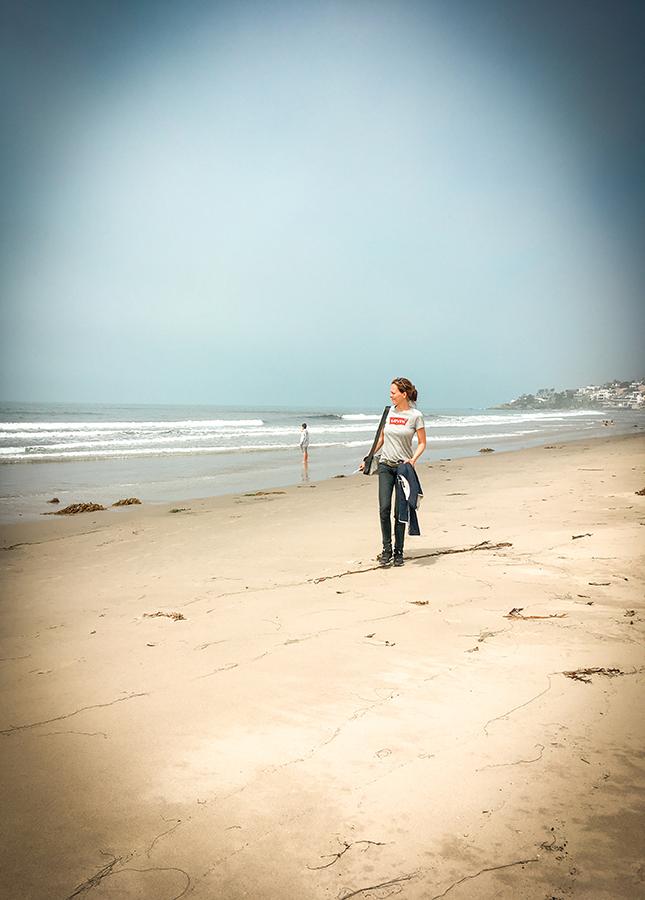 Sandra Ludes– Malibu Beach mit Kindern - Glutenfreie Kalifornien Reise