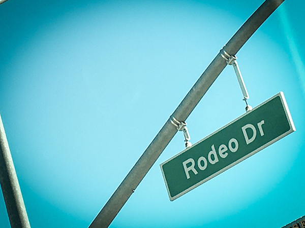 Los Angeles - Rodeo Drive - Reisen mit Kindern