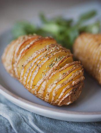 Fächerkartoffeln – Hasselbackkartoffel - Sandra Ludes