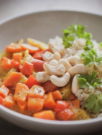 Gemüse Curry - Sandra Ludes - Glutenfrei und gesund kochen für Kinder und die Familie