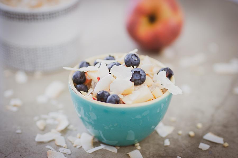 Bircher Müsli – Glutenfreier gesunder Porridge