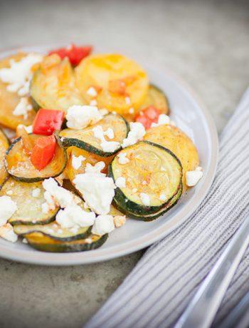 Ofengemüse mit Mozzarella – Sandra Ludes – Glutenfreie Familienrezepte
