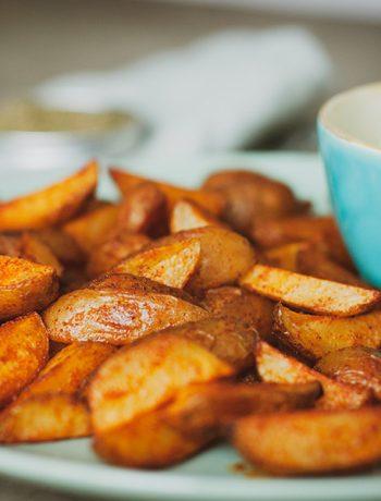 Knusprige Kartoffelecken – Gesunde Pommes