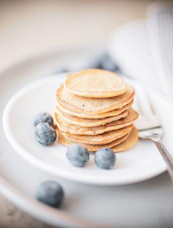 Glutenfreie Mini Pfannkuchen
