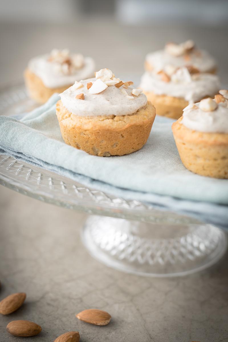 Möhren Muffins - Glutenfrei, laktosefrei, vegan, histaminfrei, zuckerfrei, Ostern, backen