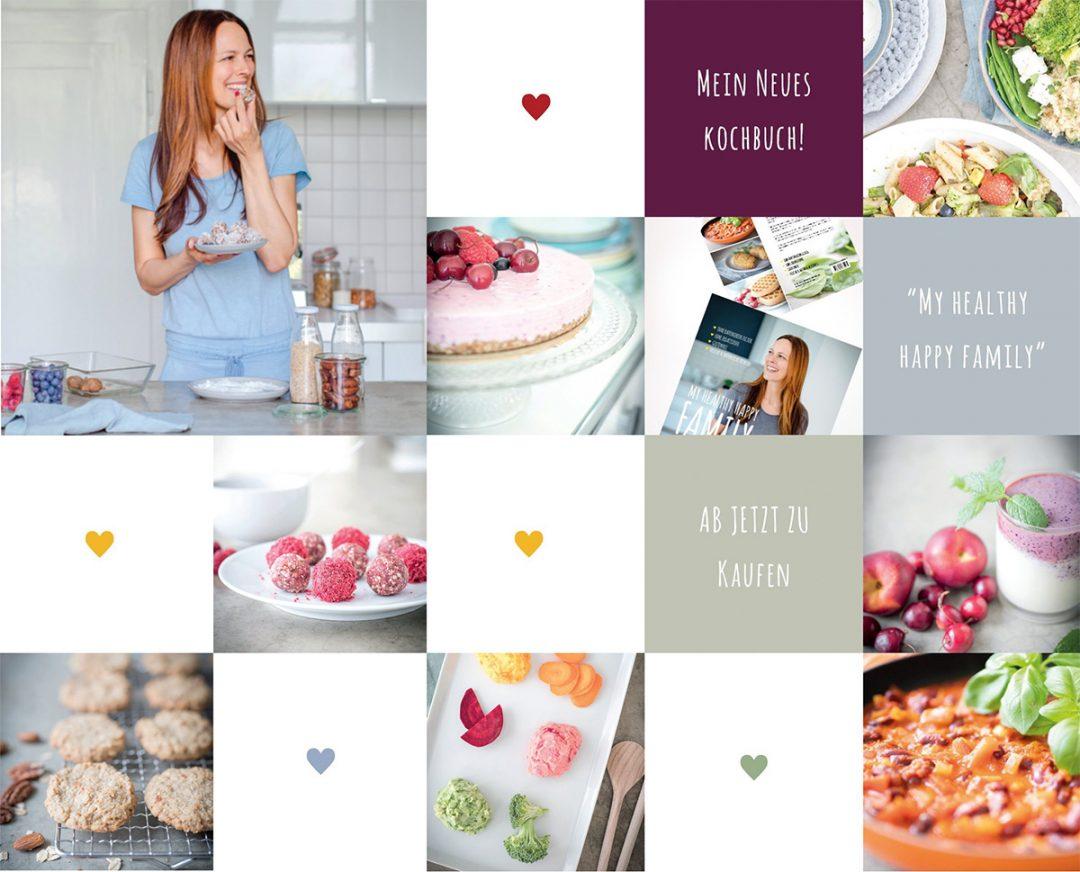 Glutenfreies und gesundes Familien-Kochbuch von Sandra Ludes