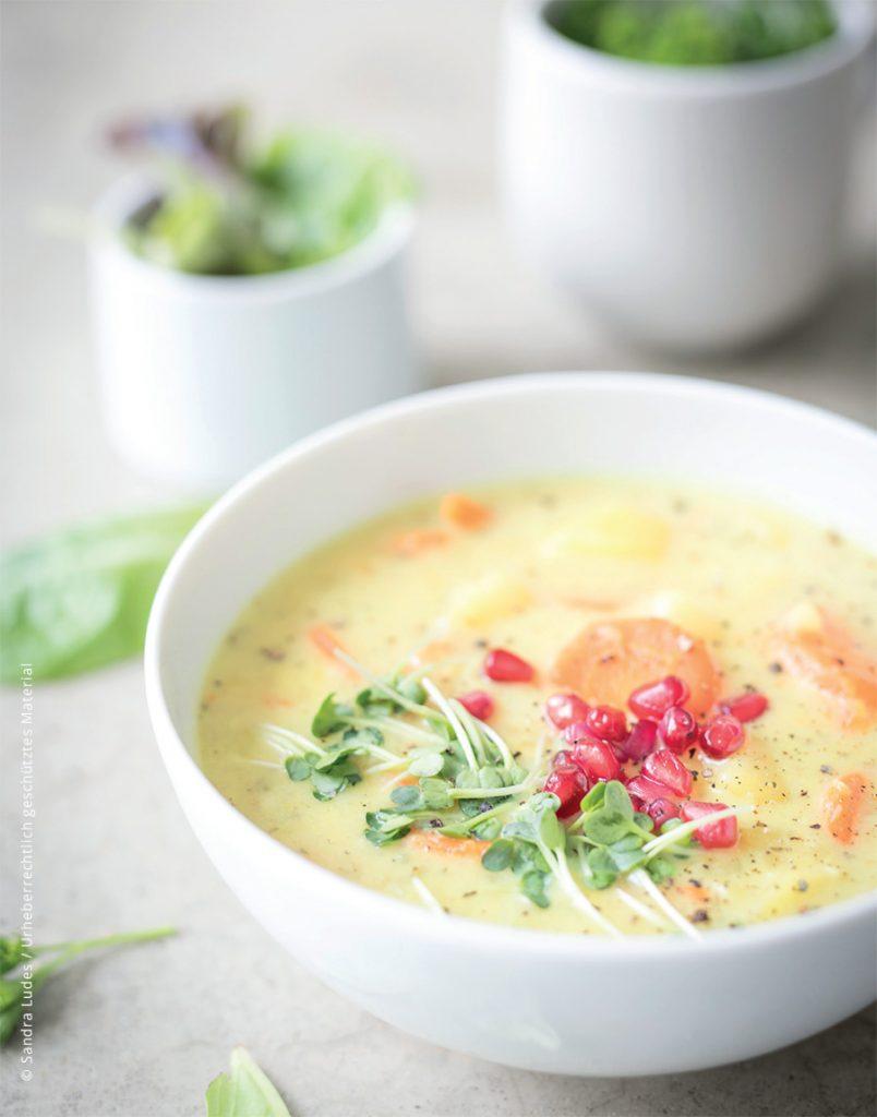 Gemüsesuppe Glutenfrei und ganzheitlich gesund