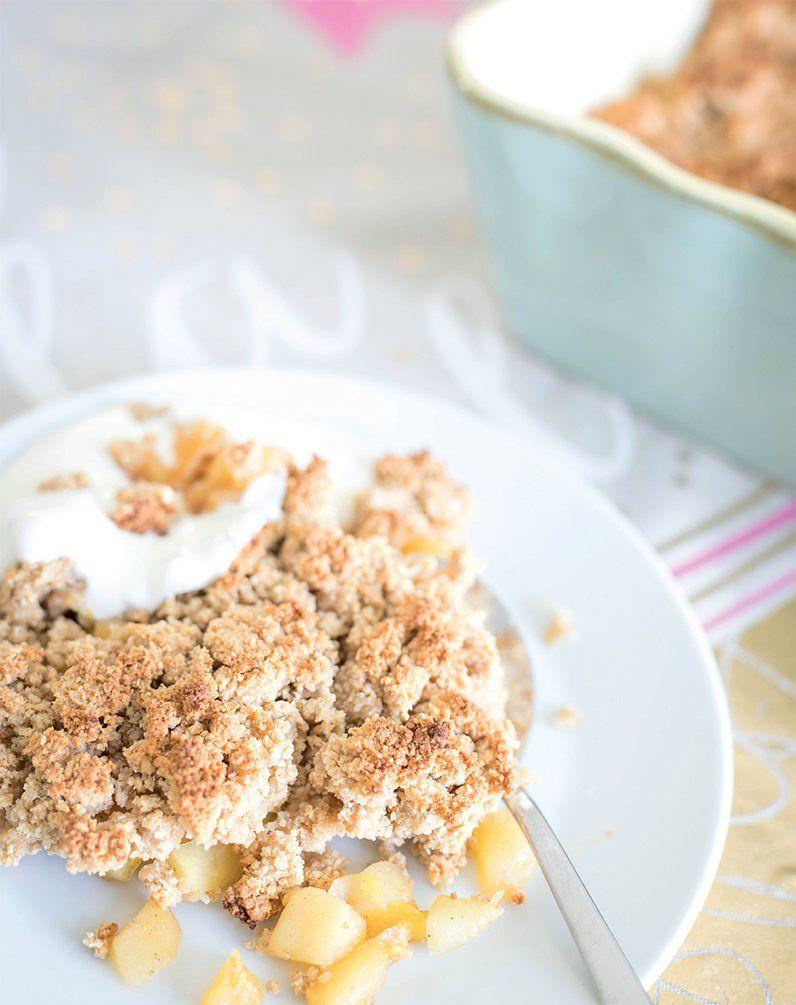 Apfel Crumble Glutenfreies Kochbuch für Kinder und die ganze Familie