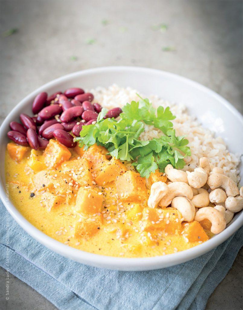 Süßkartoffel-Curry Glutenfreies Kochbuch für Kinder und die ganze Familie