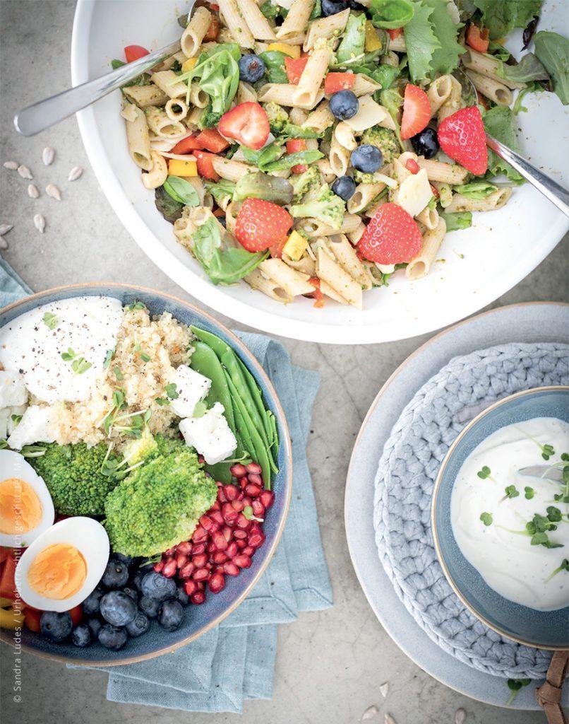 Glutenfrei und ganzheitlich gesund kochen für Kinder und die Famlie