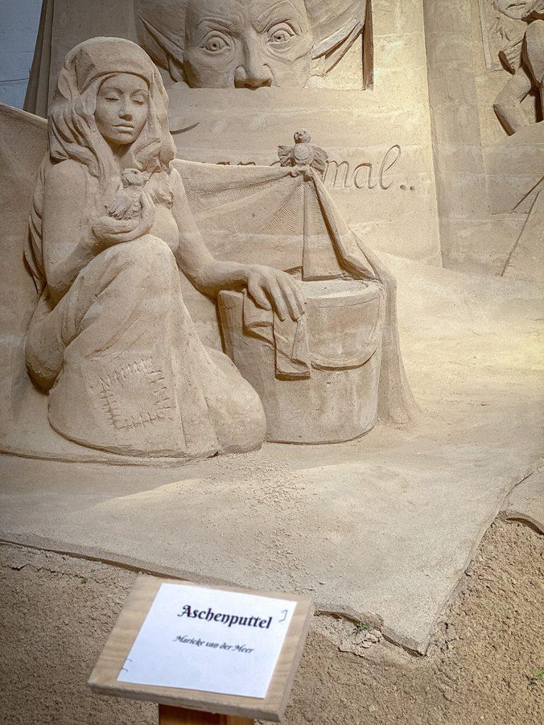Sandskulpturen-Ausstellung Travemünde