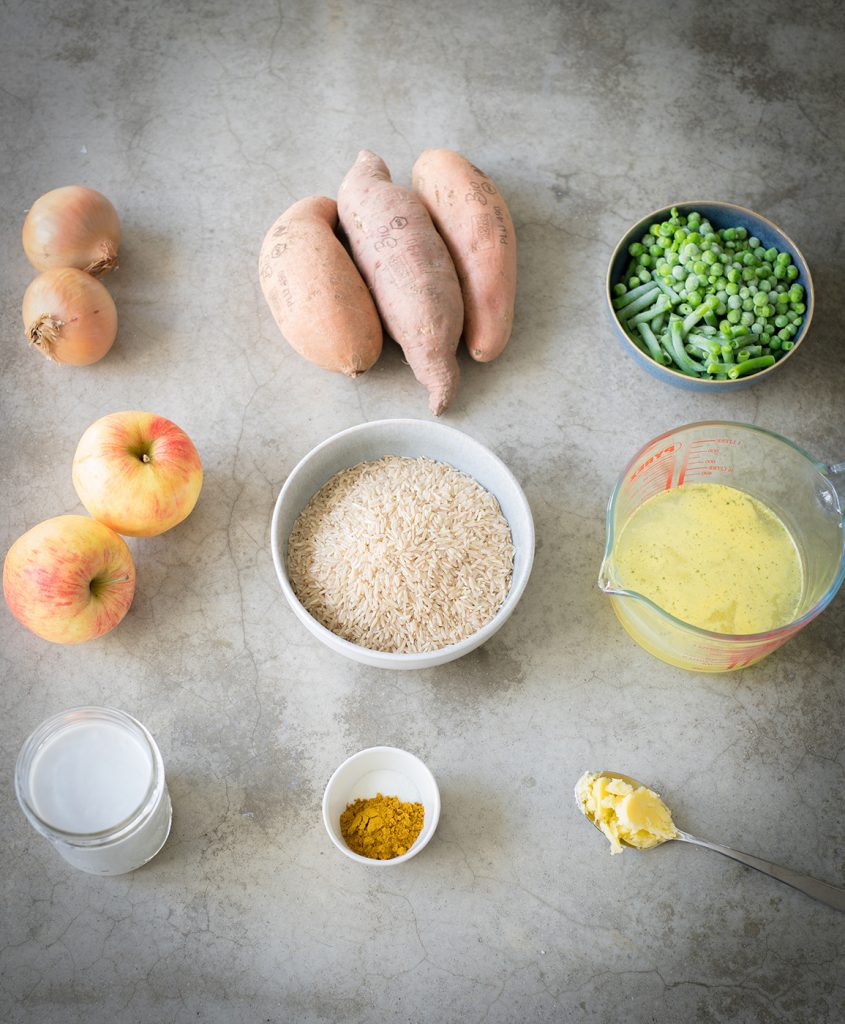 Süßkartoffel-Curry-gesund-vegan-zuckerfrei-vegetarisch-glutenfrei-laktosefrei-Kinderrezepte-Familienrezepte-Ghee-Sandra-Ludes