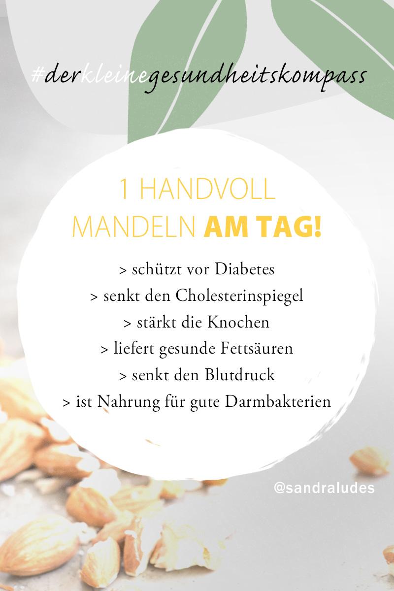 Handvoll Mandeln am Tag - Ernährungsumstellung - einfach und alltagstauglich - auch mit Familie und Kindern-Sandra Ludes