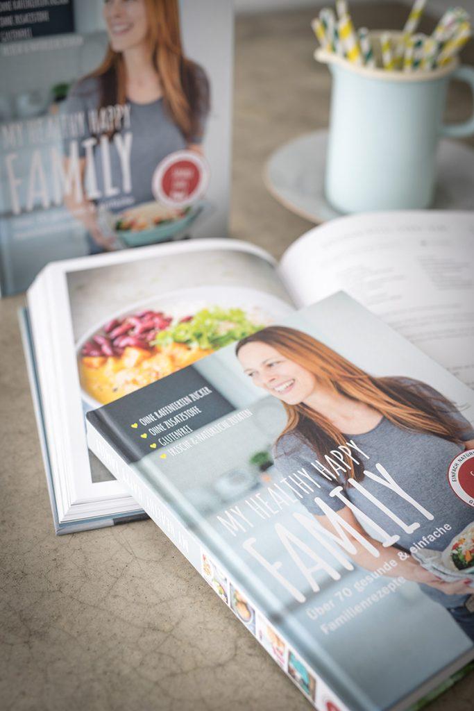 Kochbuch vegetarisch, zuckerfrei, laktosefrei, glutenfrei, Sandra Ludes, Familie und Kinderrezepte