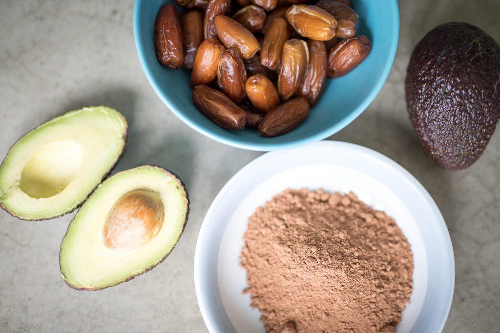 Zutaten Avocado Schoko Mousse